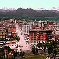 Denver Panorama 1897 by Mountain Dreams