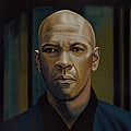 Denzel Washington In The Equalizer Painting by Paul Meijering