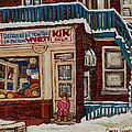 Depanneur Kik Cola Montreal by Carole Spandau