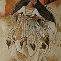 Departure Of White Buffalo Woman by Pamela Mccabe