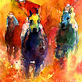 Derby Horse Race Racing by Svetlana Novikova