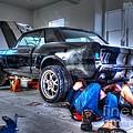 Derek's Mustang by Janna and Kirk Davis
