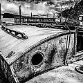 Derelict Sailboat by Paul Haist
