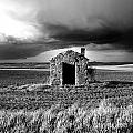 Derelict Stone Shed In  Auvergne. France by Bernard Jaubert