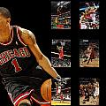 Derrick Rose by Joe Hamilton