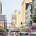 Des Moines Iowa 13th Street by Bill Cobb