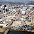 Des Moines Iowa Skyline by Bill Cobb