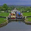 Descending Caen Hill Locks by Tony Murtagh