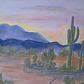 Desert Aglow by Judi Pence