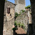 Desert Alley In San Gimignano by Christiane Schulze Art And Photography