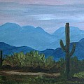 Desert Evening by Judi Pence