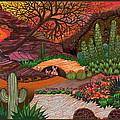 Desert Evening by Vivian Rayford