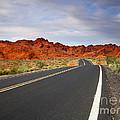 Desert Highway by Mike  Dawson