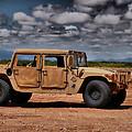 Desert Humvee by Thomas  MacPherson Jr