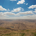 Desert Landscape By The Tannur Dam by Panoramic Images