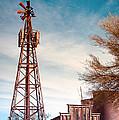 Desert Lighthouse by Diane Wood