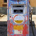 Desert Mountain Super Gasoline - Bennett Gas Pump by Mike McGlothlen