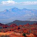 Desert Mountain Vista by Frank Wilson