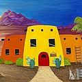 Desert Oasis by Carol Sabo