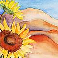 Desert Sunflower by Shirin Shahram Badie