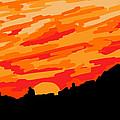 Desert Sunset by Jera Sky