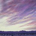 Desert Sunset by Mary Taglieri