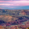 Desert View Sunset by Tom Weisbrook