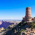 Desert View Watchtower Overlook by John M Bailey