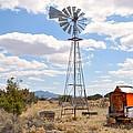 Desert Windmill by Diana Angstadt