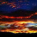 Desert Winter Sunset  by Chris Tarpening
