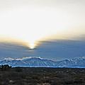 Desert Winter View by Chet King