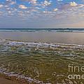 Deserted Beach by Carole Lloyd
