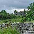 Deserted Building In Ireland by Brenda Brown