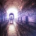 Deserted Prison Hallway by Jill Battaglia