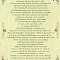 Desiderata Gold Bond Scrolled by Movie Poster Prints