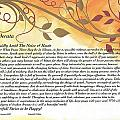 Desiderata On Golden Leaves by Desiderata Gallery