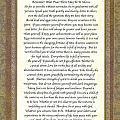 Desiderata Poem By Max Ehrmann by Desiderata Gallery