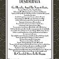 Desiderata Squared Swirls by Desiderata Gallery