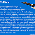 Desiderata With Bald Eagle by Greg Norrell