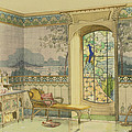 Design For A Bathroom, From Interieurs by Georges Remon