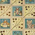 Design For Nursery Wallpaper by Voysey