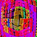 Designer Phone Case Art Colorful Rich Bold Abstracts Cell Phone Covers Carole Spandau Cbs Art 138 by Carole Spandau