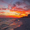 Destin Sunset by Kay Pickens