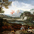 Destruction Of Niobes Children by Crescenzio Onofri