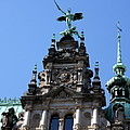 Detail City Hall Hamburg by Christiane Schulze Art And Photography