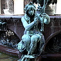 Detail Fountain City Hall  Hamburg by Christiane Schulze Art And Photography
