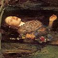 Detail From Ophelia by Philip Ralley