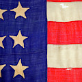 Detail Of A Civil War Flag In Drummer by Panoramic Images