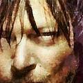 Detail Of Daryl Dixon  by Janice MacLellan