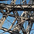 Detail Of Ferris Wheel At Vienna Prater by Frank Gaertner